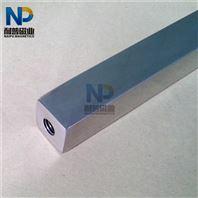 方形不锈钢强力除铁吸铁磁选磁力棒 磁棒