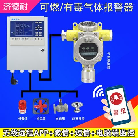 工業用丁烷氣體報警器,云監控