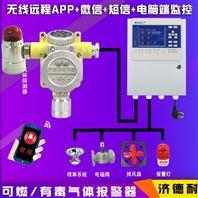 化工厂厂房异丙烯气体报警器,无线监测