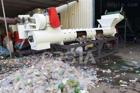 分离机械塑料瓶标签纸脱纸机