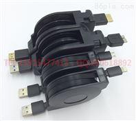 伸缩HDMI高清线定制批发