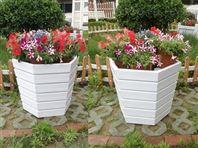 户外花箱,公园花箱,河南户外防腐木花箱