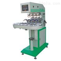 长春移印机厂家 四色转盘全自动印刷机定做