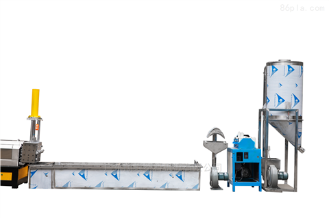 水料機,廢舊膜料回收擠出造粒機組