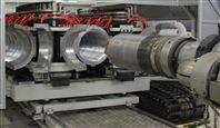 高速型卧式水冷HDPE双壁波纹管设备