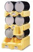 雙桶疊放油桶架系統