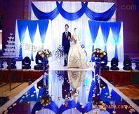 生產pet塑料鏡片 金色鏡面婚慶地毯
