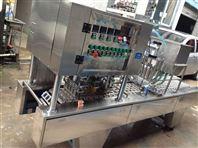 武漢呂工牌4口盒裝水粉顏料自動灌裝封口機