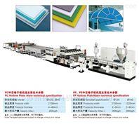 PP中空包装板生产线
