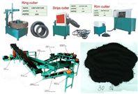 青島廢舊輪胎處理設備,膠粉生產線