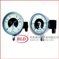 上海布莱迪/电接点压力表不锈钢防腐/径向