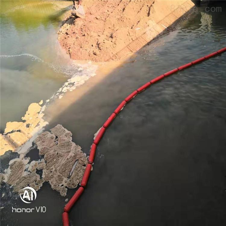 组合式塑料拦污浮筒高分子拦漂设施