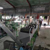 山东潍坊机油桶回收料处理生产线
