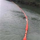 壶源江水电站漂浮垃圾拦截装置浮式拦污排