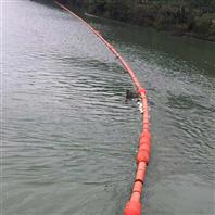 亭子口电站拦垃圾浮筒加固型拦污浮排