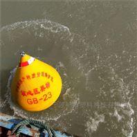內湖紅色警示浮標 湖北梁子湖警示錐形浮標