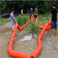 大渡河水電站專用攔污排航道攔船浮筒