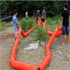 拦污浮筒型号水面警示浮筒厂家