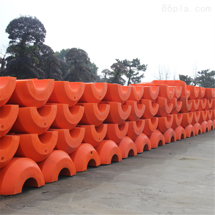河道疏浚专用浮体新型海上聚乙烯浮筒厂家
