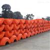 FT1100*1100*500港口疏浚管道浮筒實心塑料浮體加工