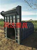 農村墳墓鋼模具實況生產