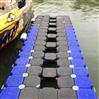 水上搭建浮箱平台