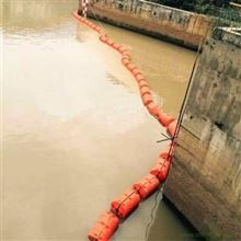 对夹挂网式拦污浮筒高效率拦污排