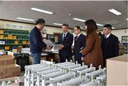 中国塑协代表团参观考察韩国塑料管道生产企业